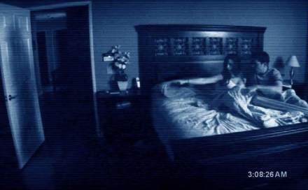 See the shadow on the bedroom door? Yeah; pretty creepy!!