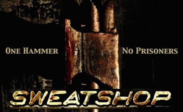 Sweatshop banner