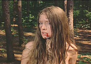 Camille Keaton as Jennifer, and...