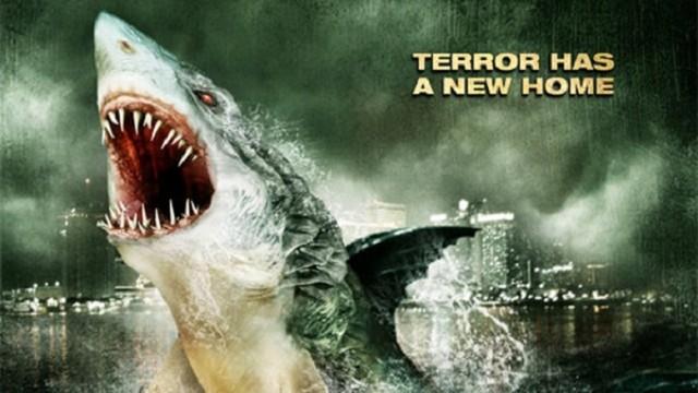swamp shark banner