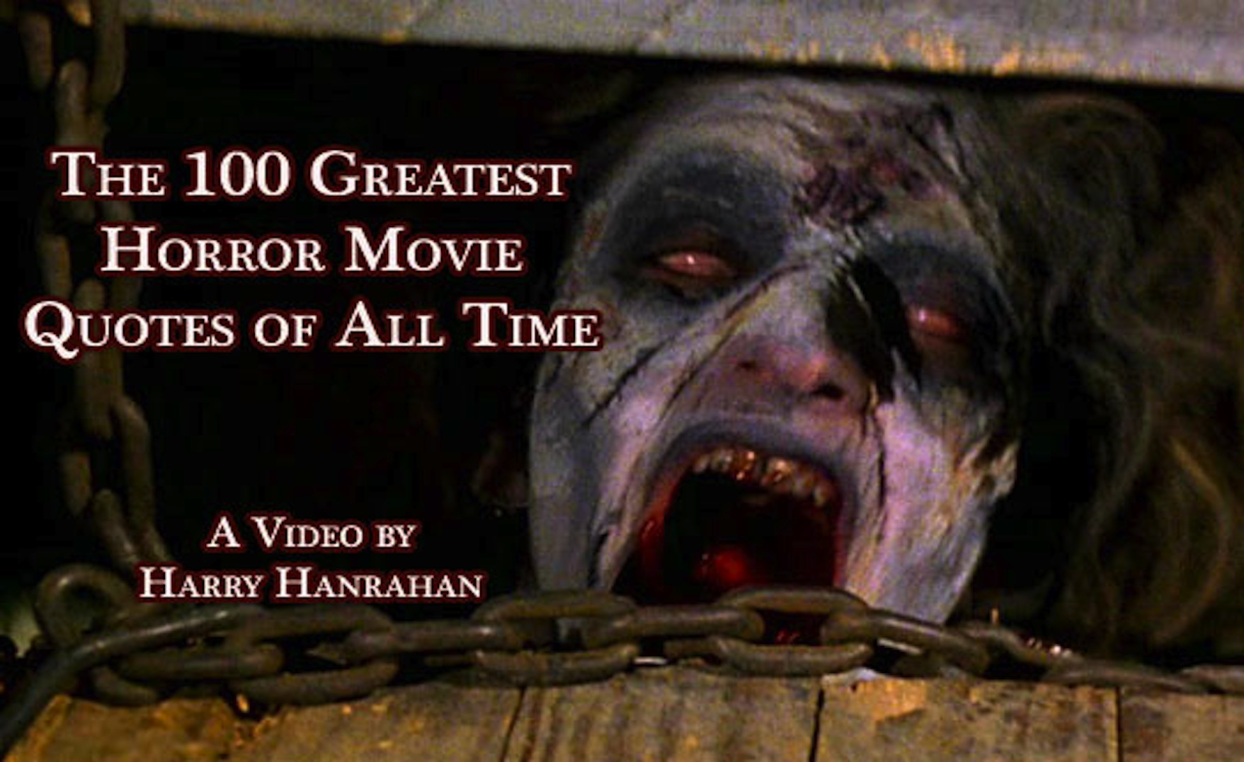 Horror Movie Quotes: 100 Top Movie Quotes Of All Time