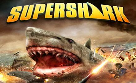 Super Shark banner