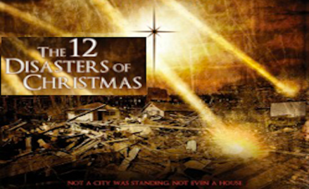 12 disasters of christmas banner