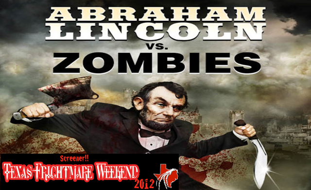 Lincoln vs Zombies banner