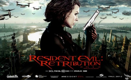 Resident Evil Retribution banner