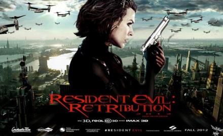 Resident Evil Retribution banner