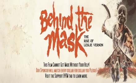 Behind the Mask banner