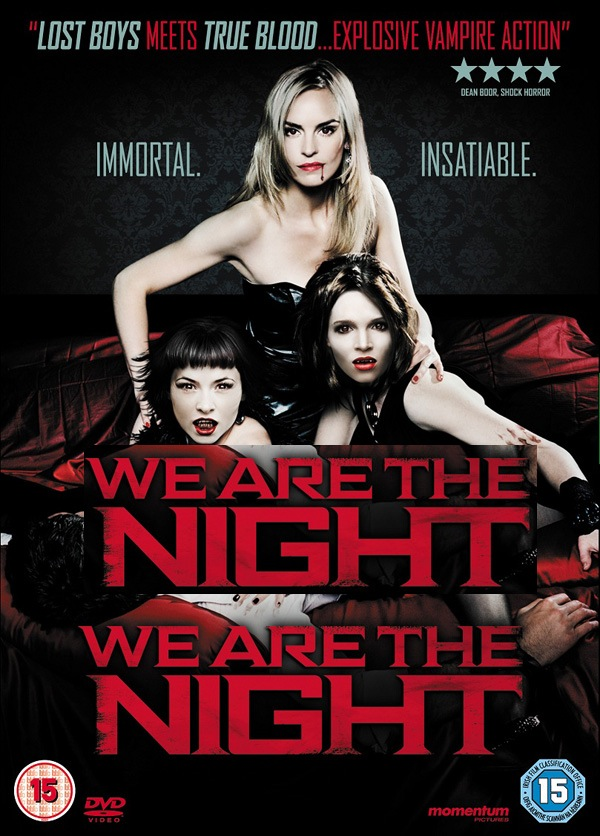 vampire flick we are the night getting a dvd release