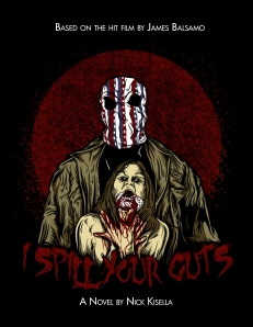 Cover of the I SPILL YOUR GUTS novel!!