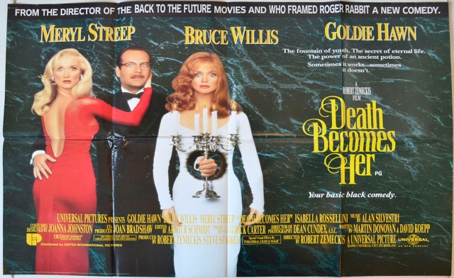 Death becomes Her Cinema Quad Poster