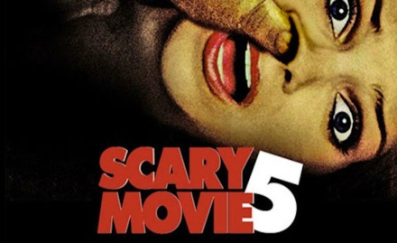 scary movie banner