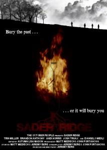 SADER RIDGE poster