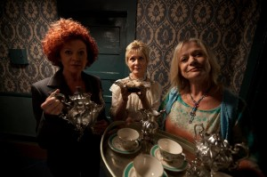 Beware of old, creepy ladies bearing tea!!