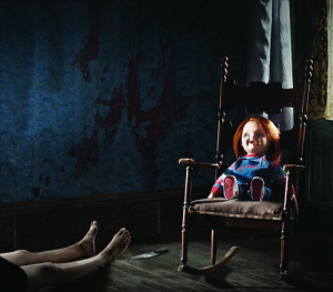Killer dolls are like cats when it comes to hogging all the furniture.