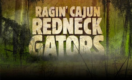ragin cajun redneck gators banner