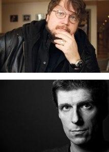 THE STRAIN's authors, Guillermo del Toro & Chuck Hogan.