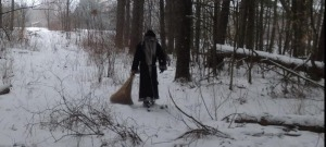Krampus walking the frozen wasteland!!