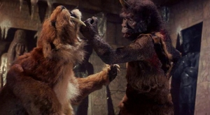 Coming soon on SyFy: SABRETOOTH VS TROGLODYTE
