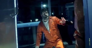 Porter (Sean Astin) is pretty pissed off!!