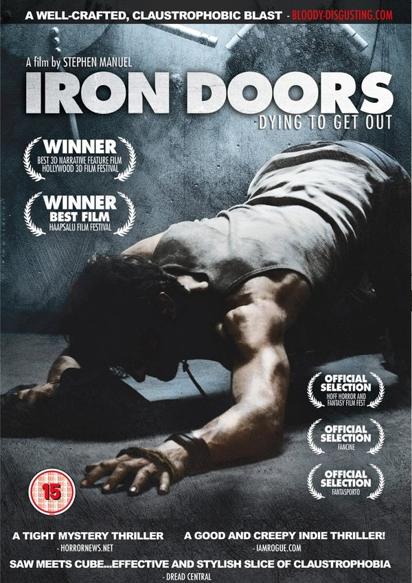 Iron Doors poster & Iron Doors Getting a January UK DVD/VOD Release | AnythingHorror.com Pezcame.Com