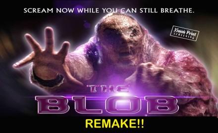 The Blob banner