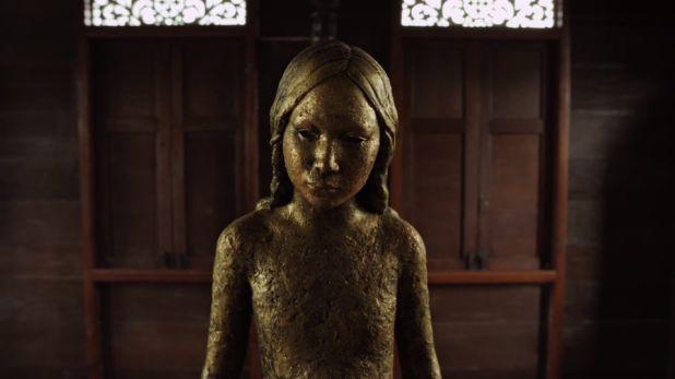Pernicious statue