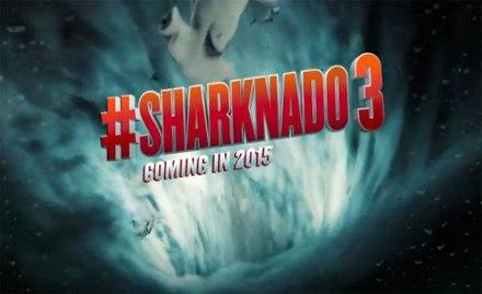 Sharknado 3 banner