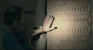 """It says, """"ANUBIS HAS ARRIVED. S**T JUST GOT REAL."""""""