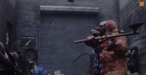 Whats worse than a clown? A zombie-clown. What's worse than a zombie-clown? A zombie-clown with a bloody axe!!