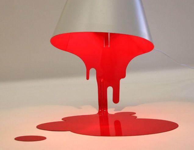 Paint Spill Lamp Uk