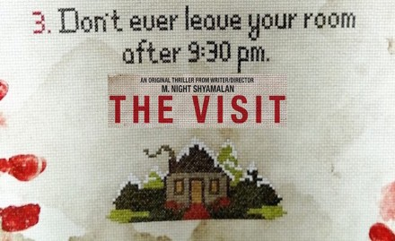The Visit banner