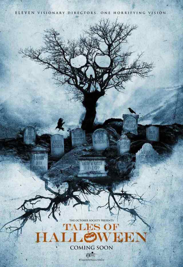 popcorn TALES OF HALLOWEEN POSTER