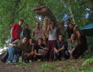 The cast and crew. Hope they had a better time making it than I did watching it...