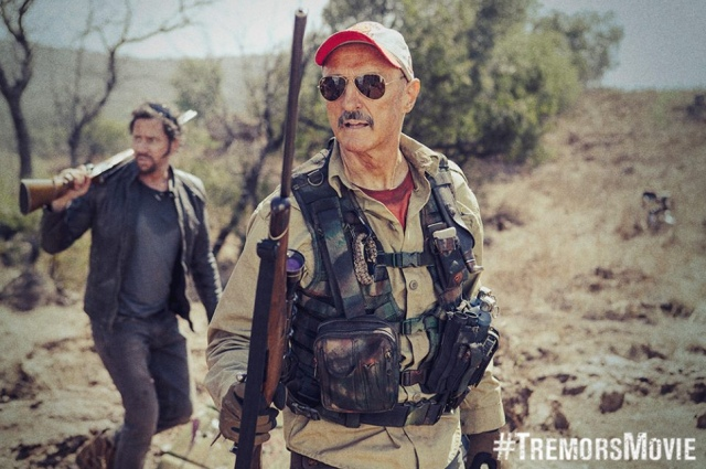 Burt Gummer (Michael Gross) is back and is ready for action!!