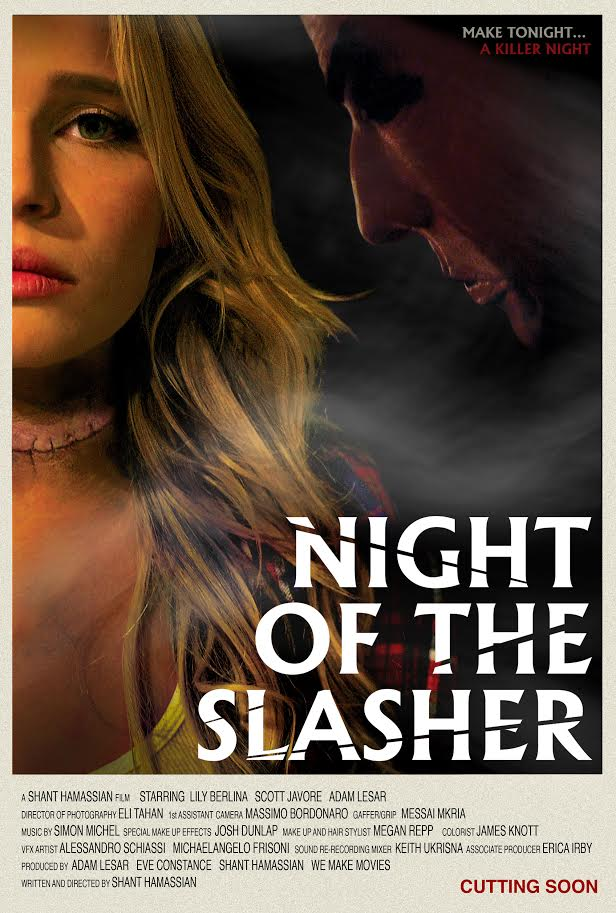 Night of the Slasher poster