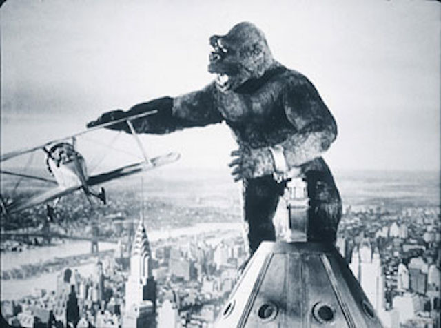 Iconic king kong